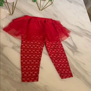 Carters tutu leggings